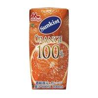 100%オレンジジュース200ml 紙パック